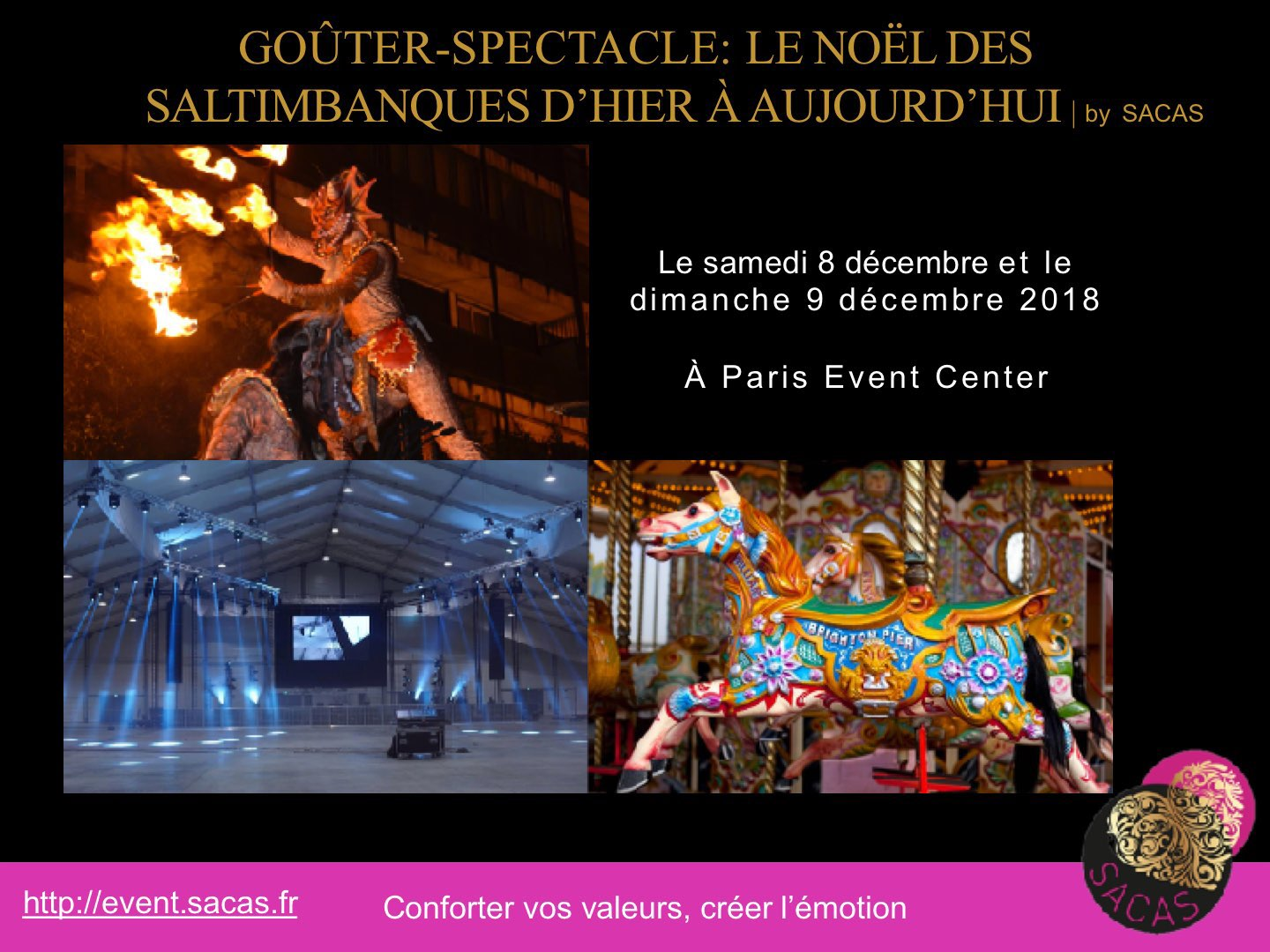 agence SACAS Event Paris Event center 2018 page no. 1